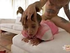 Light-haired Babygirl Puke Screwed and Loves It