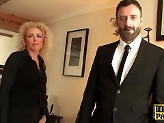 British realtor ass pulverized by rough male domination