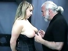 Busty Gimp In The Dungeon