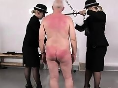 Police femdoms discipline abnormal gimp