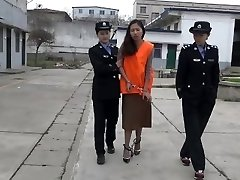 asian girl at jail part3