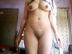 Σούπερ Σέξι Μεγάλα Βυζιά Desi Κορίτσι Γυμνό Selfie