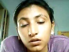 Jammu callgirl taunting and disrobing