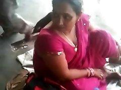 Big-boobed Indian MILF on a Train Station 2 (o) (o)