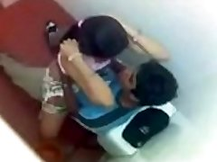Desi Young College Lover Fucked In College Toilet