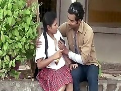 Guy Seducing Sumptuous School Girl