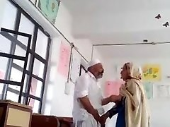 Desi principal fuck tutor in class apartment MMS paki old fat