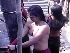 indijski dekleta, odprite tuš