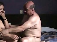 Indian prostitude lady fucked by oldman in hotel bedroom.