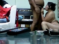 Indian Bhabhi with her office Chief