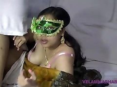 Mature Indian MILF Bhabhi Velamma Deep-throating Meaty Cock