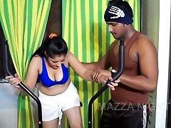 Bhabhi Romantikat Koos Jõusaali Treener