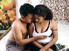 بنگالی 18 + فیلم کوتاه-دوست دختر تماس دوست دختر در هتل برای عاشقانه