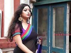 rupsa-saree lady-deep lõhustumine