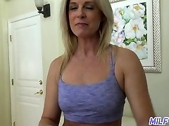 MILFTRIP Step Mom India Summer Greets Step Son Home
