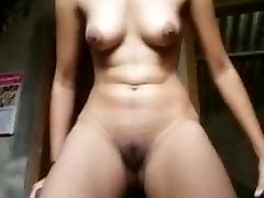 indian village girl showing honeypot and ass