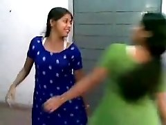 Spicy Indian girls have boner inducing gang-bang