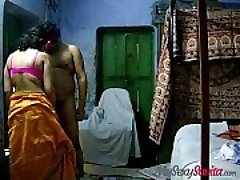 indian fledgling savita bhabhi providing hot blowjob