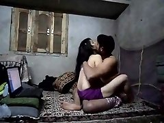 Desi sizzling babe homemade spunky fuck with facial