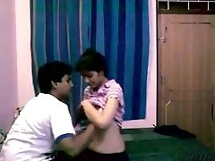 Delhi 1st Year Teens Homemade romp with Messy Audio