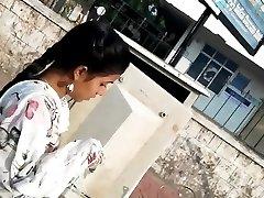 cum på hot pink salwar jente