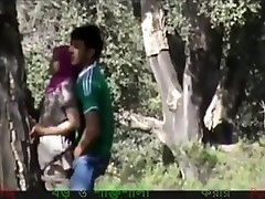 Prova and Her Boyfriend Rigid Sex Outdoor