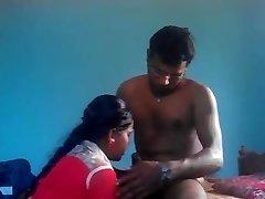 Desi Indijski Vasi Mlade GF Zajebal n Traja Cumshot v Usta, Kot Pornstar