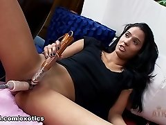 Finest pornstar Karmen Bella in Incredible Dildos/Toys, Solo Gal adult movie