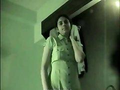 Indijos koledže mergina namų gamybos sekso vaizdajuostę