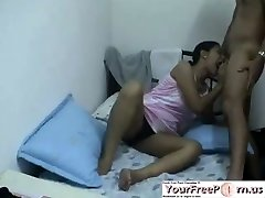 Indian Teenie Makes Her Boyfriend Blessed