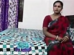 Big boobs indian aunty in red saree drilled by neighbor boy..and  record her
