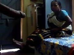 Flashing trouser snake to Satin maid