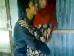 Desi Hindu BF kisses Fucks Muslim cutie Afeena in Colg Class
