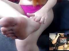 Tiffany Sole JOI on Skype