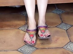 Beautiful indian feet..