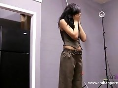 Natasha Indian Student Striptease Show