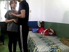 Indian Young School Lovers Fucking In Hostel Bedroom and record - Wowmoyback
