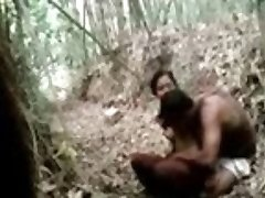 22 1st time village lovers hot orgy in forest