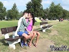 Indian gal cum shot movieture Eveline getting torn up on ca