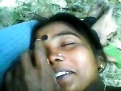 Indian Couple Having Lovemaking Outdoors