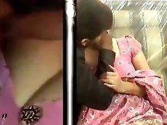 INdian Naughty Aunty Big Boobs Pressed Stiff