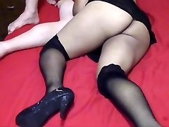 Cuckold hubby filming his slut wife fucking