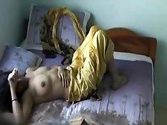 Žltá Salwar Gf Chýba Stripping Časť