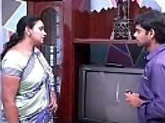 saree aunty seducing and showing to TV repair dude .MOV