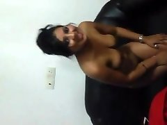 Indian Gal Flashing titties