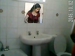 Indian girl shower spy