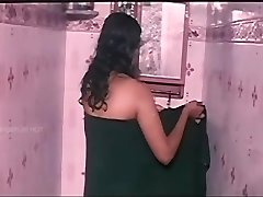 Desi Bhabhi Large Sexy Cleavages The Bathroom Shower With Raw Body