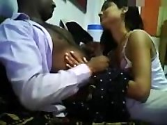 Indian Damsel Seducing Office Boss