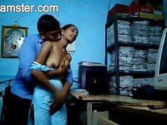Marathi Office Duo Fuck-fest From Arxhamster