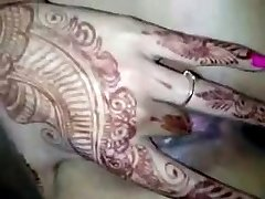 Indijski Poročen Dekle Naznanitev v prvo noč